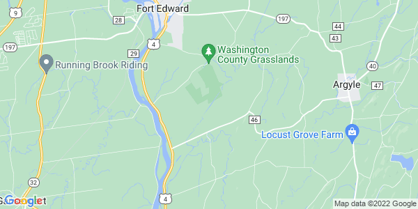 Map of Fort Edward Town, NY