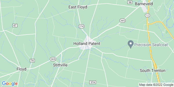 Map of Holland Patent, NY