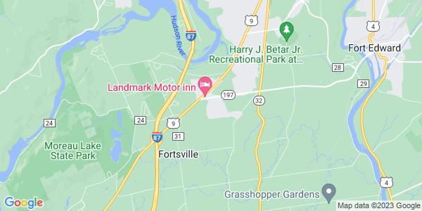 Map of Moreau, NY