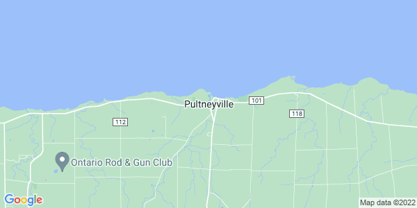 Map of Pultneyville, NY