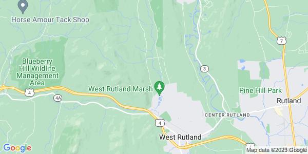Map of West Rutland, VT
