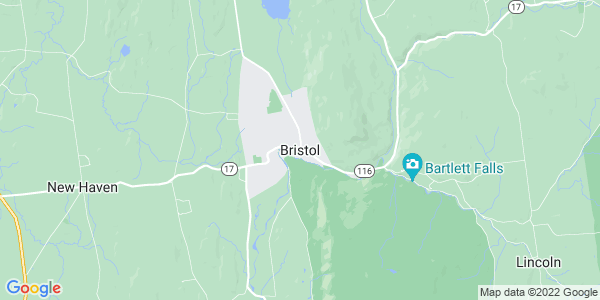 Map of Bristol CDP, VT