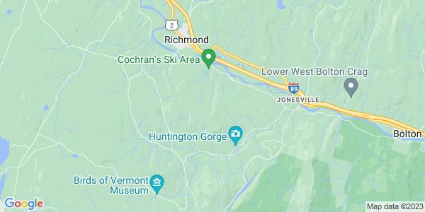 Map of Richmond, VT