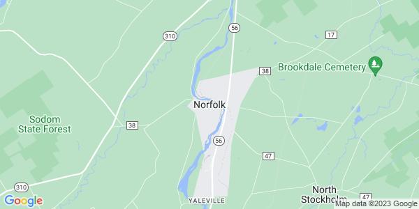 Map of Norfolk CDP, NY