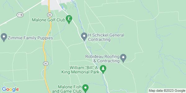 Map of Whippleville, NY