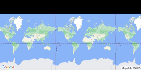 Map of Three Lakes, WI