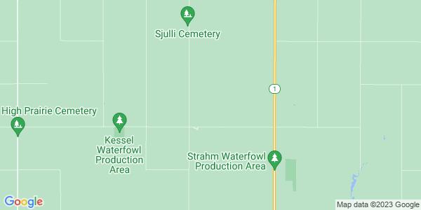 Map of Black Loam, ND