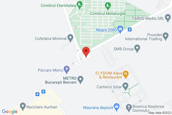 Berceni - Metalurgiei - Metro - cu loc de parcare  Map