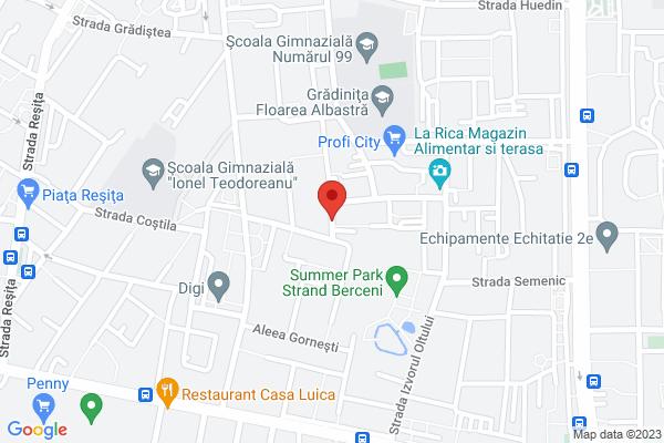 Apartament 2 camere renovat - Strandul Berceni - Lamotesti Map