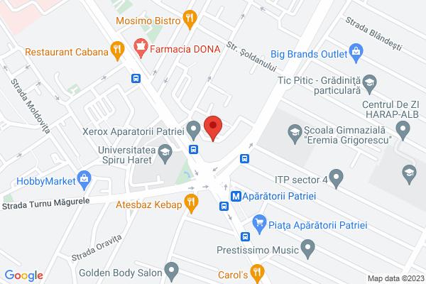 Apartament 3 camere Berceni - Facultatea Spiru Haret  Map