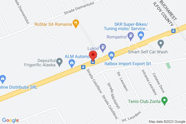 Teren 5000 mp - Bragadiru - Alexandriei - stradal - langa RoStar Map