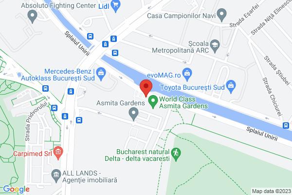 Asmita Gardens - Tineretului - ETAJ 17 - 2 camere mobilat/utilat Map
