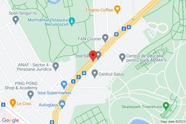 Diamond Park Tineretului - Parcul Carol, 3 camere complet mobilat Map