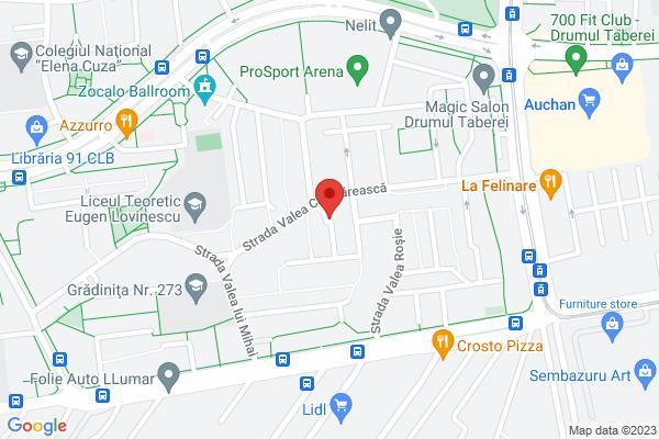 Apartament 3 camere confort 2 -  Drumul Taberei - Liceul Lovinescu Map