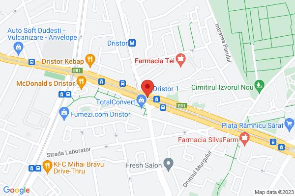 Apartament 2 camere - Metrou Dristor 1 minut - etaj 5 Map