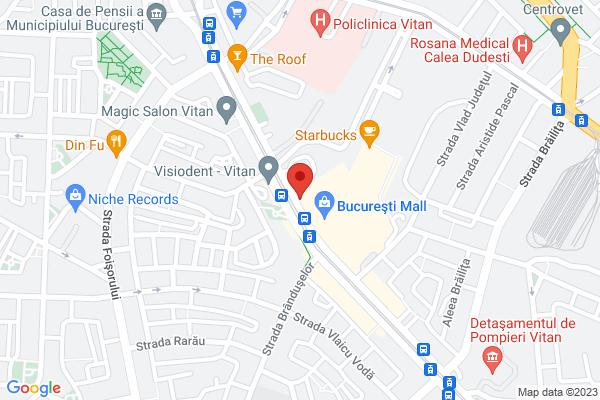 Vitan - vav Mall Vitan Map