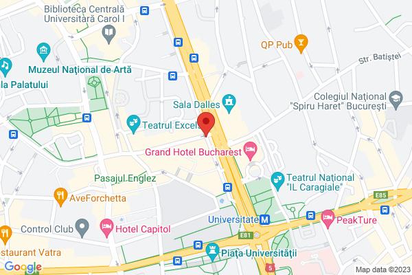 Apartament 2 camere Universitate Map