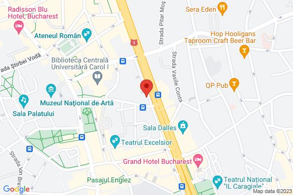 Garsoniera  Universitate - Bulevardul Nicolae Balcescu Bloc Consolidat Map