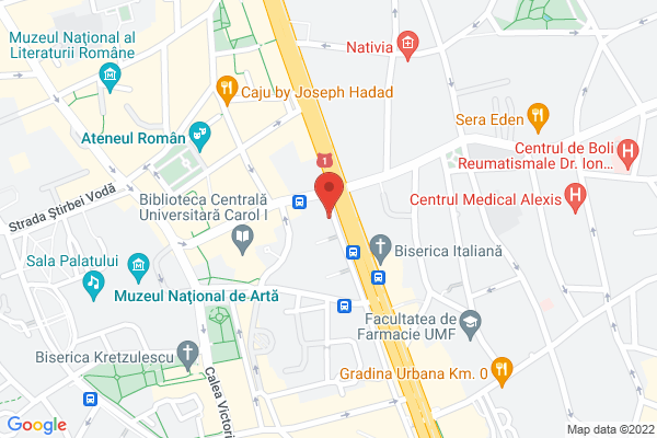 Apartament 4 camere Universitate Map