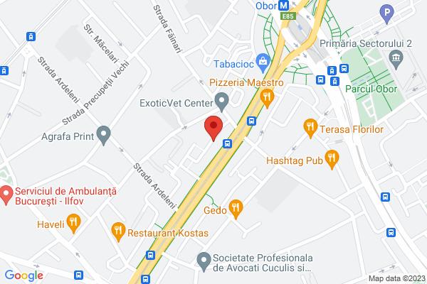 Calea Mosilor  -Fainari parter aproape Metrou Map