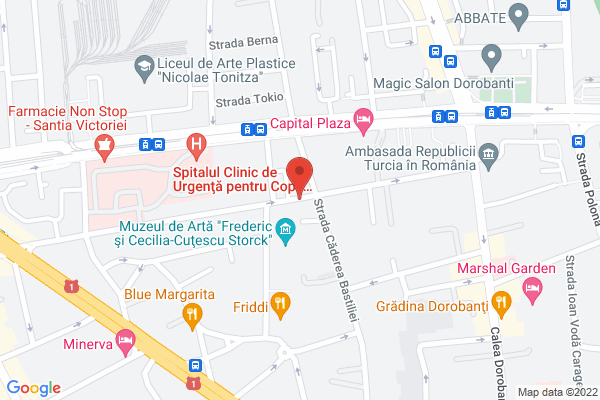 Piata Victoriei - Grigore Alexandrescu Map