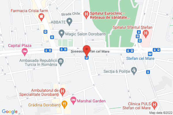 Stefan Cel Mare - Spitalul de Urgenta Map