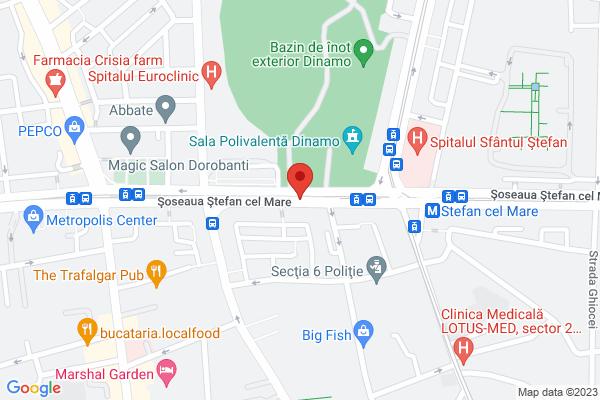 Stefan Cel Mare - vav stadionul Dinamo Map