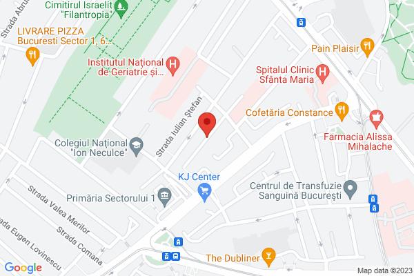 Inchiriere Apartament 3 camere -AVIATIEI Map