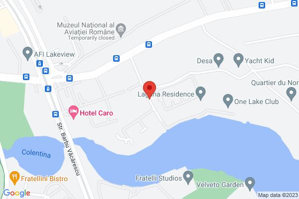 Apartament 2 camere - Laguna Residence Lacul Tei - mobilat/utilat Map