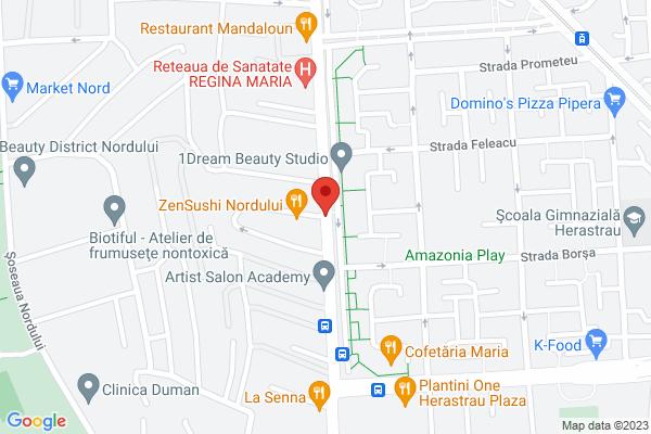 Vanzare Apartament 3 camere -Herastrau  Map