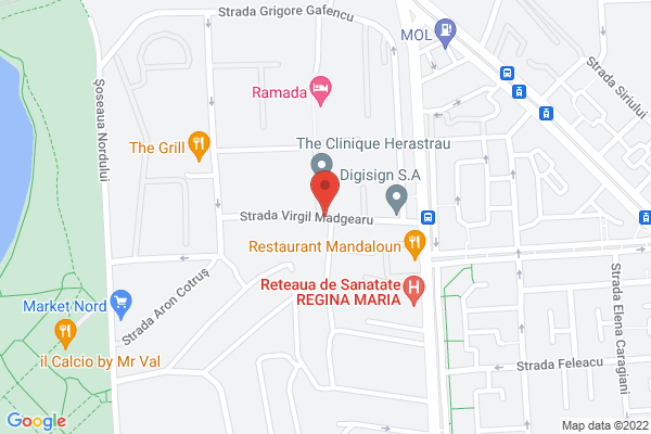 Herastrau -Palladian Condominium Inchiriere Ap 3cam Map