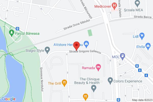 Ap.2 camere Gafencu 49 Residence  - Herastrau - cu parcare Map