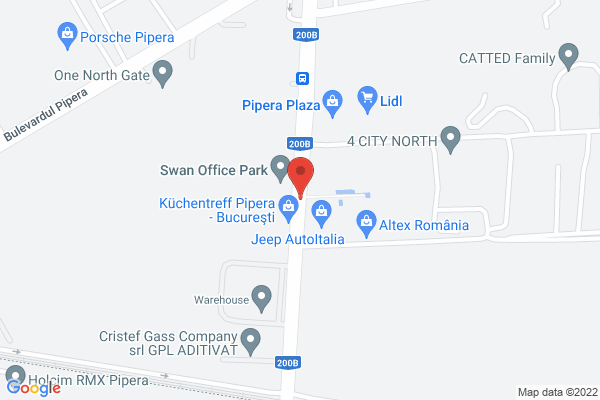 Apartament 2 camere 4City North  - PIPERA PLAZA Map
