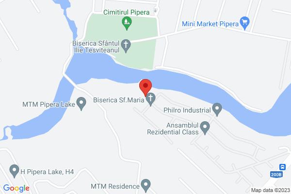 Inchiriere ap 3 cam - Pipera -Rose Residence Map