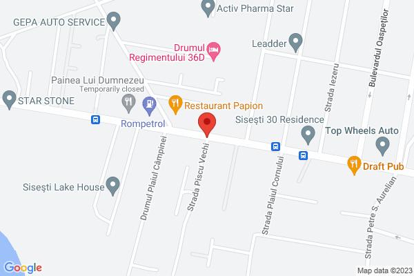 Baneasa - Sos. Gheorghe Ionescu Sisesti, apartament 3 camere Map