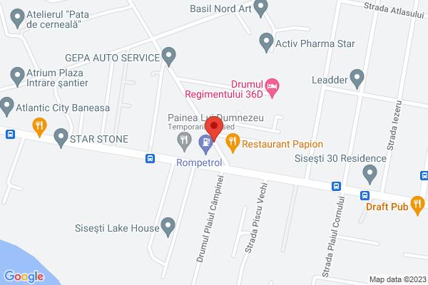 Baneasa - Sisesti - Regimentului 12 - apartament 3 camere 90 mpc Map