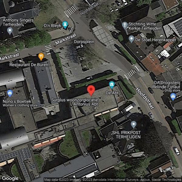 Google Map van 4844 CM