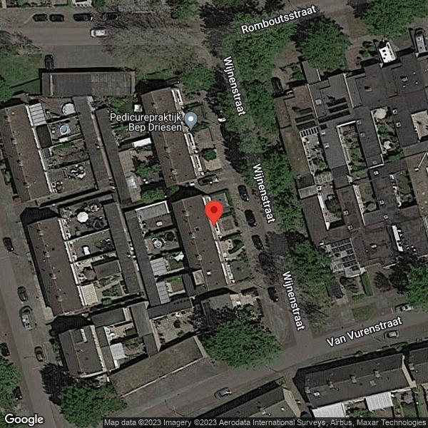 Google Map van 4921 TC