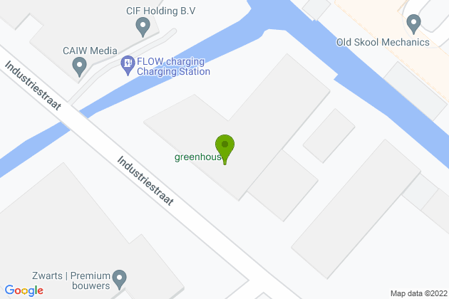 Google Map Greenhouse Datacenter