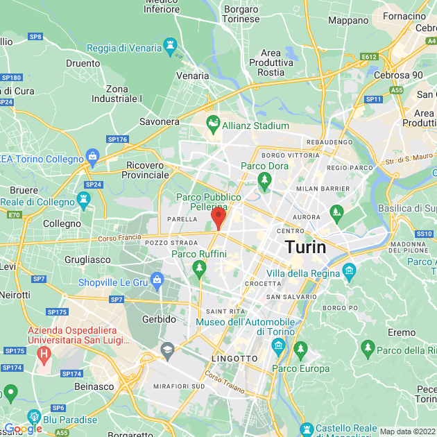 localita su mappa
