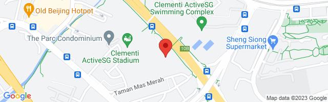 12 West Coast Walk West Coast Recreational Centre #02-25, Singapore 127157