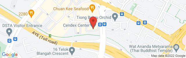 120 Lower Delta Road, #07-07, Cendex Centre, Singapore 169208