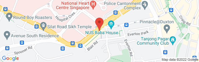 23 Kampong Bahru Road, Singapore 169349