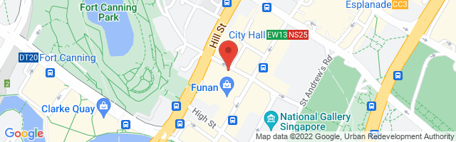 3 Coleman Street, #02-03, Peninsula Shopping Centre, Singapore 179804