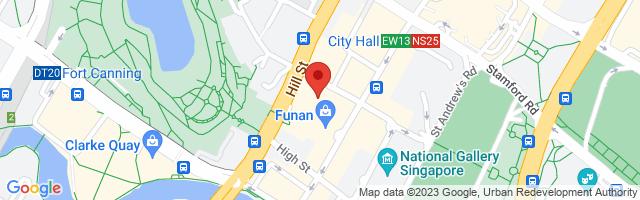 3 Coleman Street, #04-14, Peninsula Shopping Centre, Singapore 179804