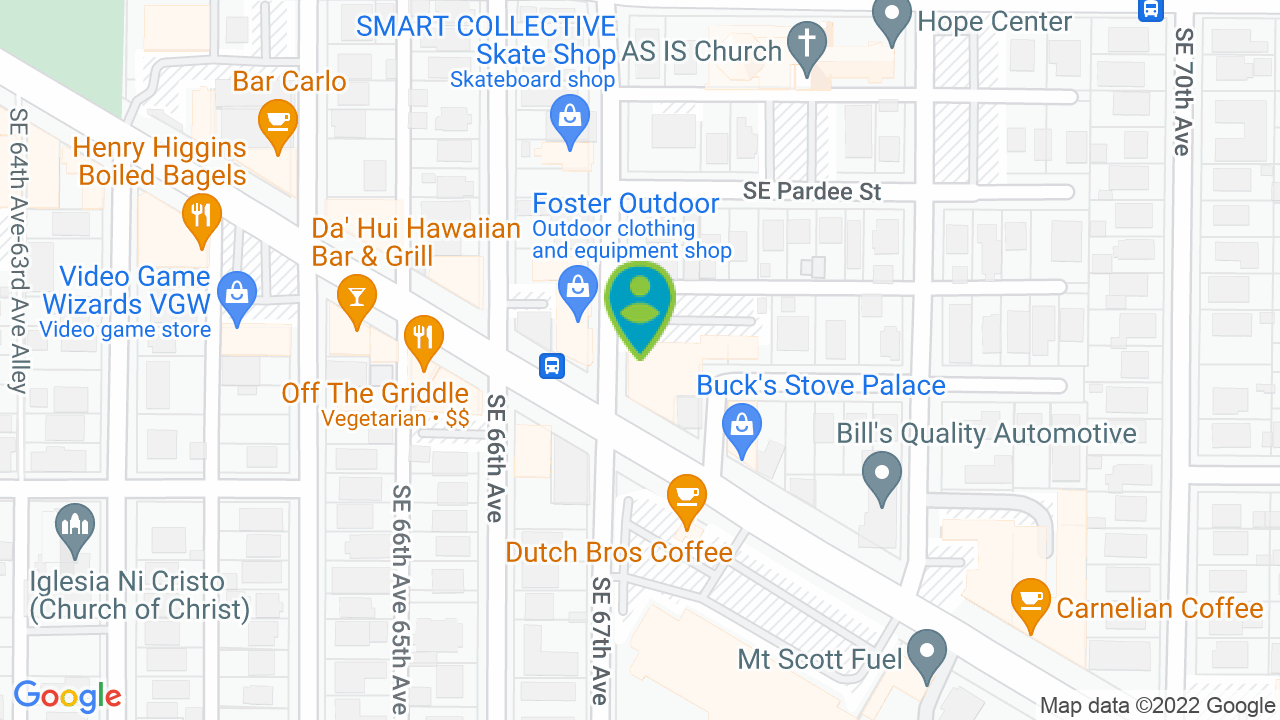 Map of SAVE Stores