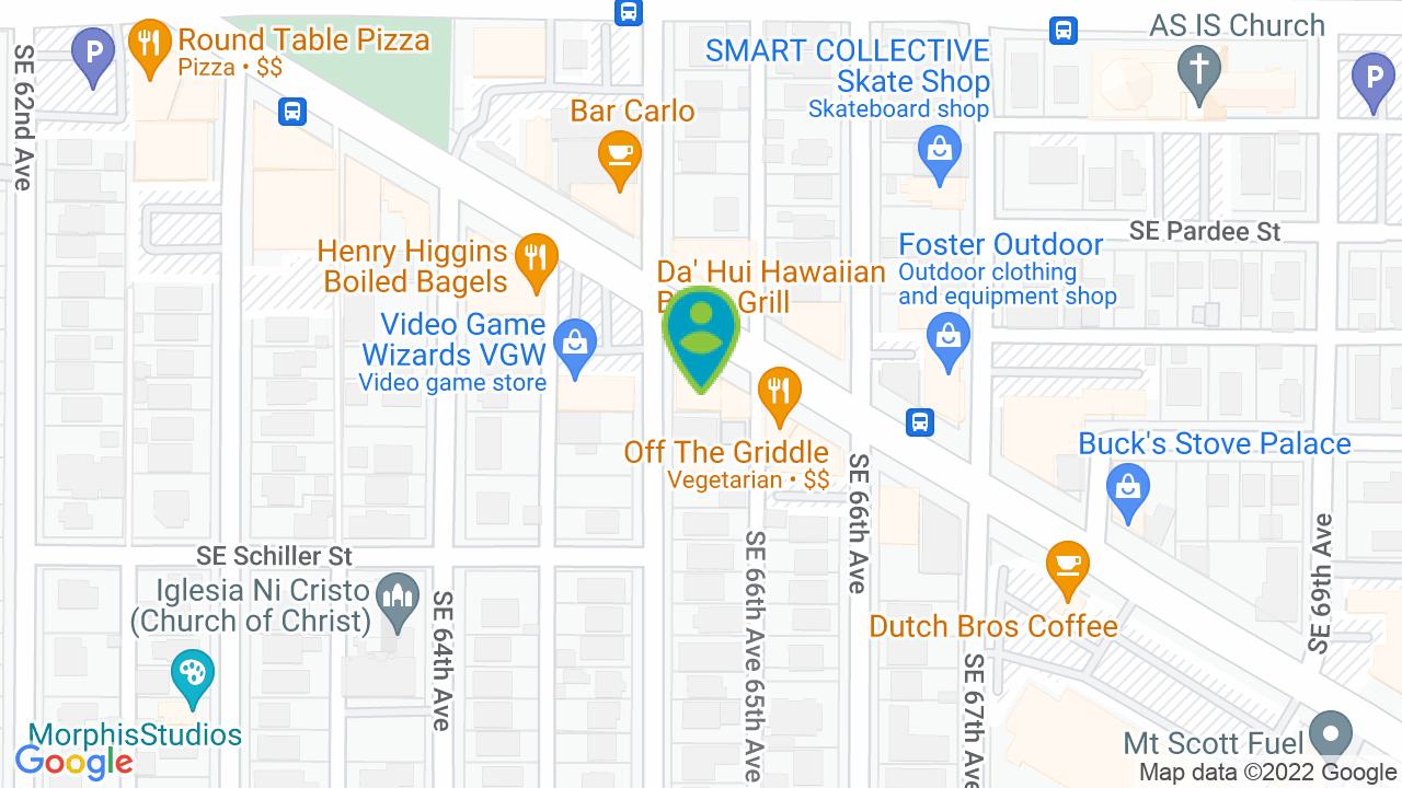 Map of Law Office of Shawn Morgan