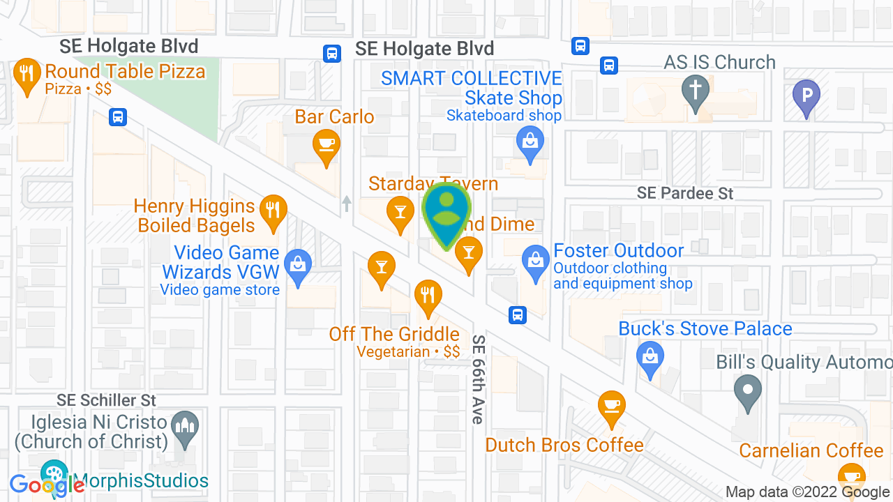 Map of 5 & Dime