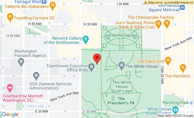 1618 Pennsylvania Avenue NW, Washington, DC 20500, USA