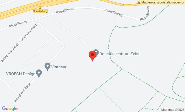 Justitie Detentiecentrum Zeist locatie Soesterberg, Richelleweg, Soesterberg, Nederland